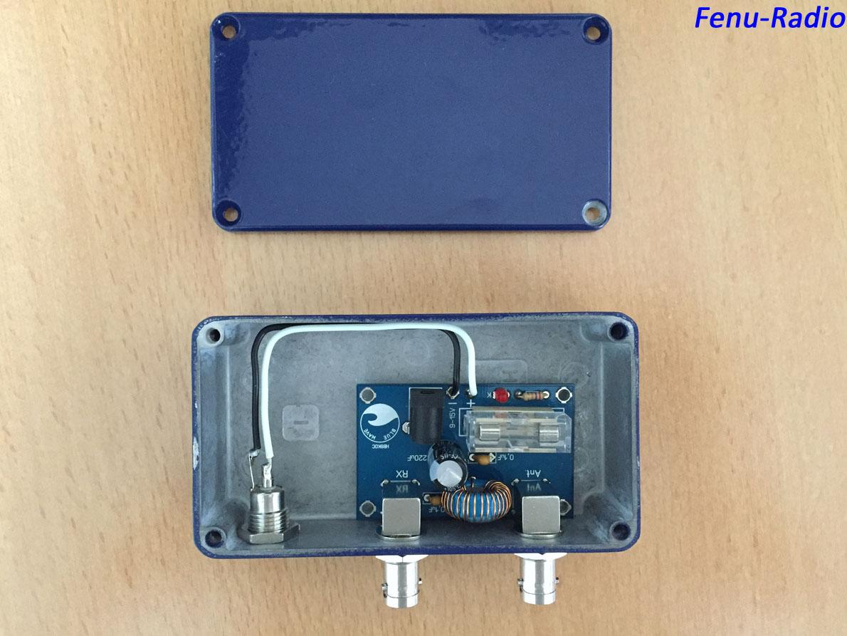 Blue Wave Active Antenna 0.05-30MHz - STAMPFL